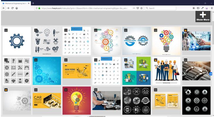 طراحی لگو رایگان وب سایت Freepik