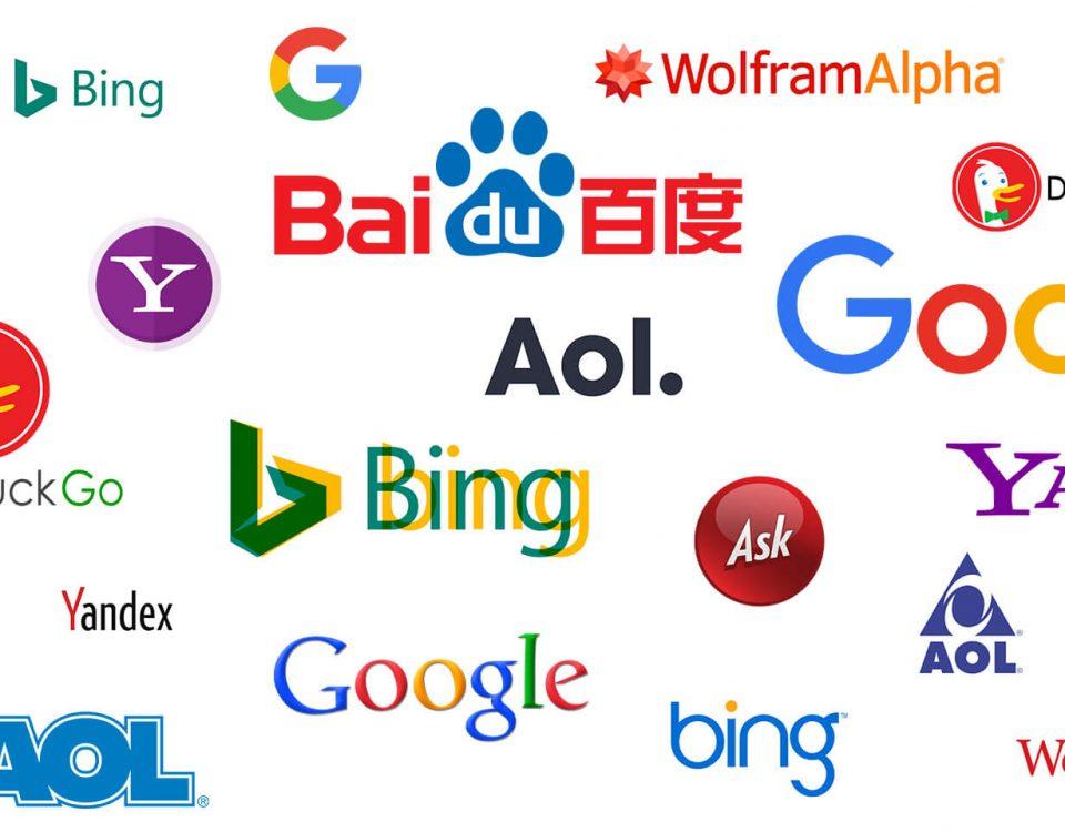 تصویر انواع موتورهای جستجو